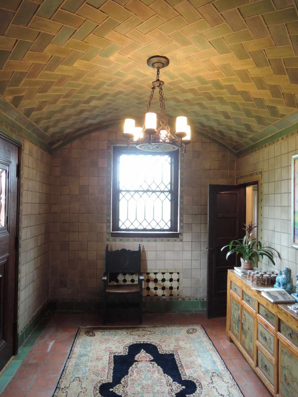 Una de las estancias de la residencia particular del hijo de Guastavino en Long Island