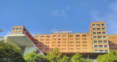 Hospital Vall d'Hebron en Barcelona.
