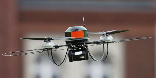 Imagen de archivo de un dron.