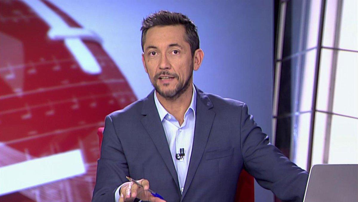 Javier Ruiz, presentador de Noticias Cuatro 2