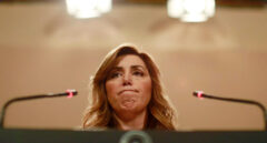 """Susana Díaz: """"Que nos quieran meter a Pedro y a mí en los ERE es irracional"""""""