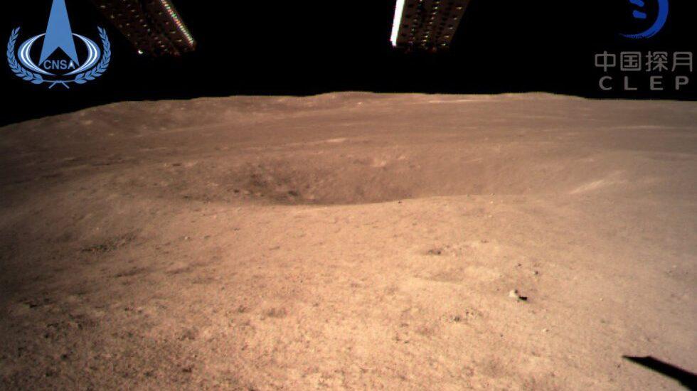 Primeras imágenes tras el descenso de Chang'e 4 a la cara oculta de la Luna