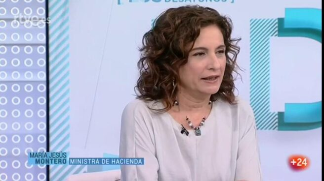 María Jesús Montero, en Los Desayunos de la 1.