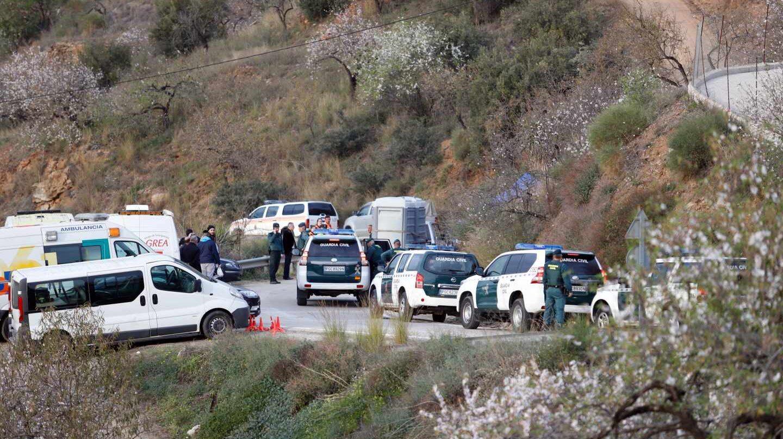 Operativo de rescate de Julen en Totalán (Málaga).