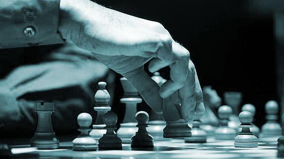 Partida de ajedrez.