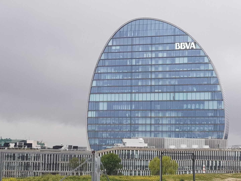 Edificio de La Vela, sede de BBVA.