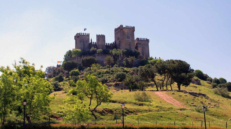 Vista general del Castillo de Almodóvar.