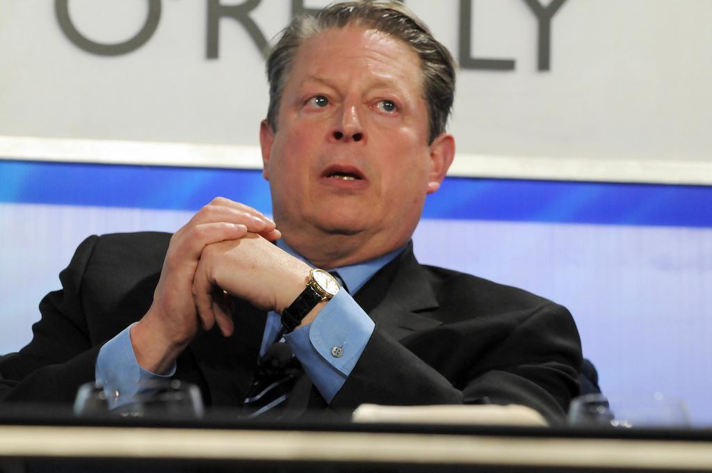El ex vicepresidente de EEUU, Al Gore.