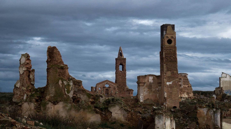Las ruinas de Belchite