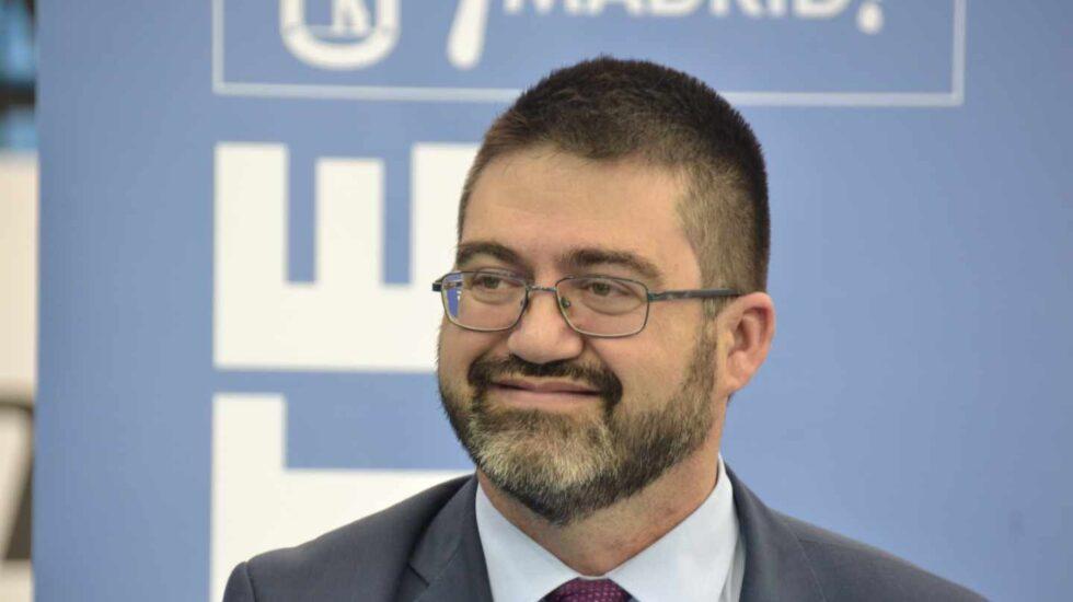 El ex delegado de Economía y Hacienda del Ayuntamiento de Madrid, Carlos Sánchez Mato.