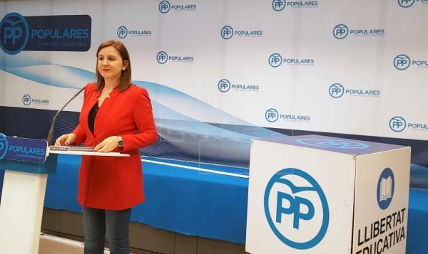 María José Catalá, candidata del PP a la alcaldía de Valencia