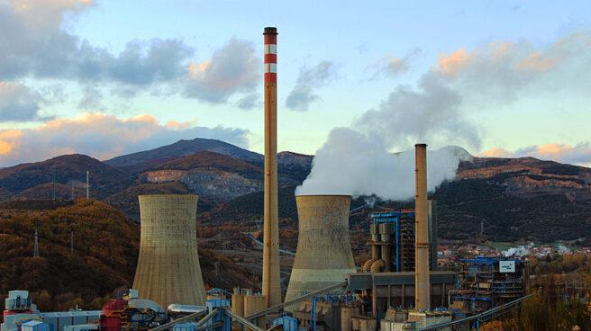 Central térmica de carbón de La Robla, en León.