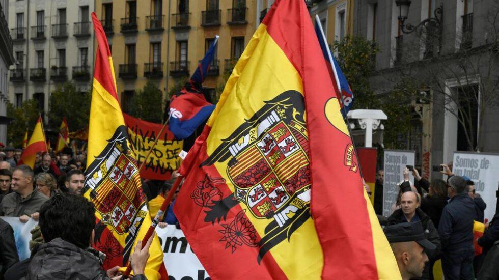 20-N organizado en Madrid por Falange.
