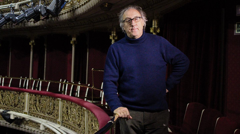 Ramon Fontserè en el Teatro María Guerrero.