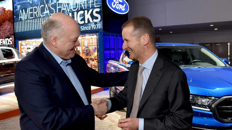 Volkswagen y Ford se alían para el desarrollo de vehículos comerciales.