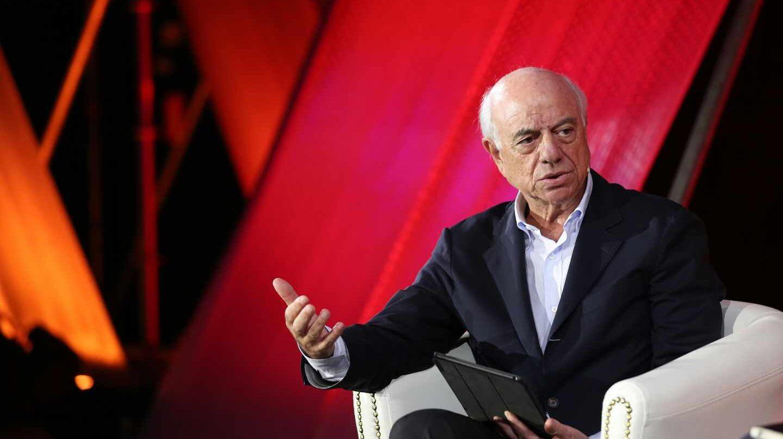 Francisco González, en una comparecencia pública durante su etapa como presidente ejecutivo del BBVA.