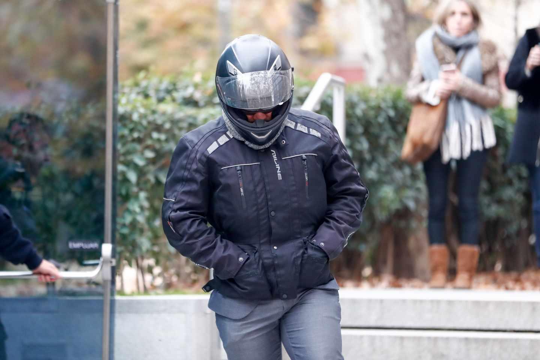 El ex chófer de Luis Bárcenas, tras comparecer como investigado ante el juez del 'caso Villarejo'.