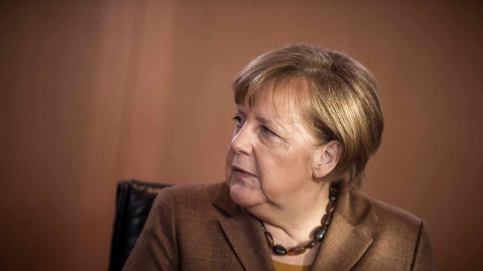 La canciller alemana Angela Merkel. Alemania ha recortado su previsión de crecimiento de la economía por el Brexit y las tensiones comerciales.