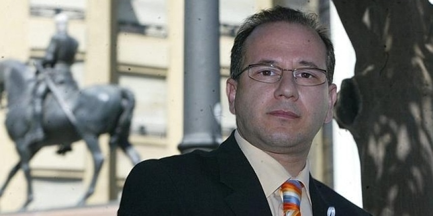Francisco José Alcaraz, senador autonómico de Vox.