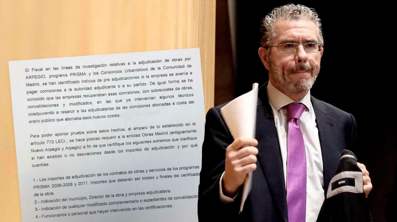 El ex consejero de Presidencia de la Comunidad de Madrid Francisco Granados, uno de los muñidores de 'Púnica'.