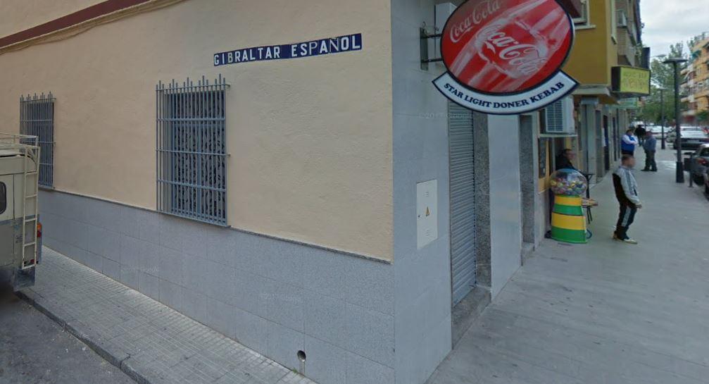 Calle Gibraltar Español en Torredelcampo (Jaén).