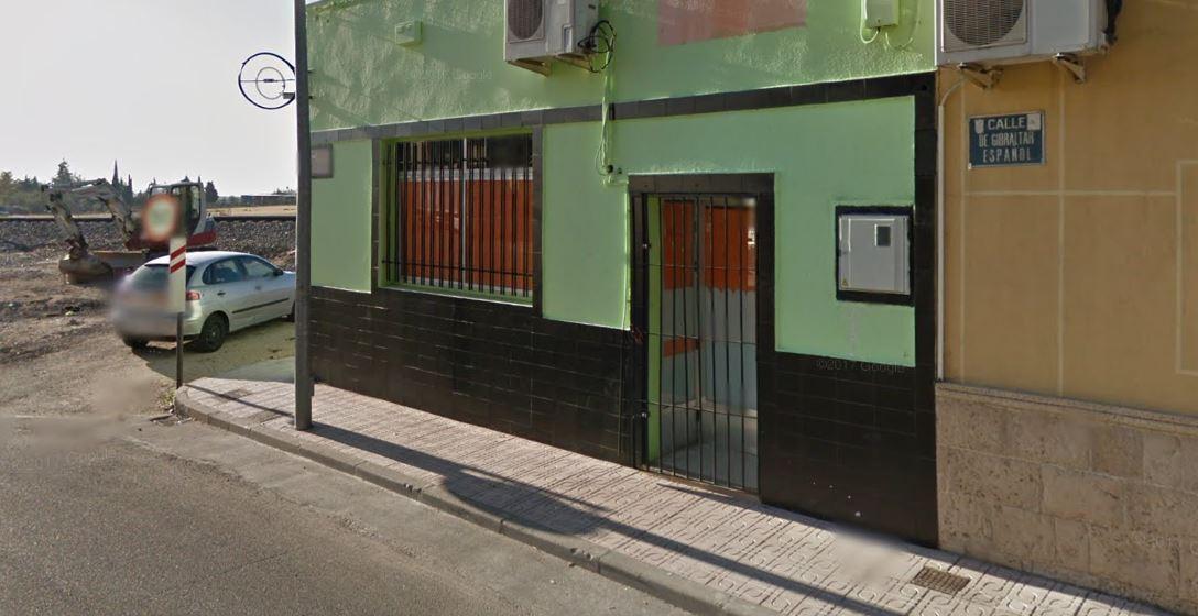 Final de la Calle Gibraltar Español, en Torrijos (Toledo), junto a las vías del tren.