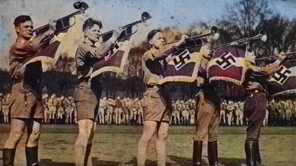 Manifestación de la Juventud Hitleriana