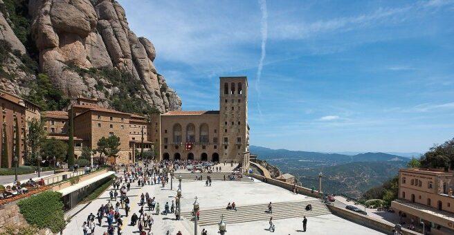 Monasterio de Montserrat en Barcelona.