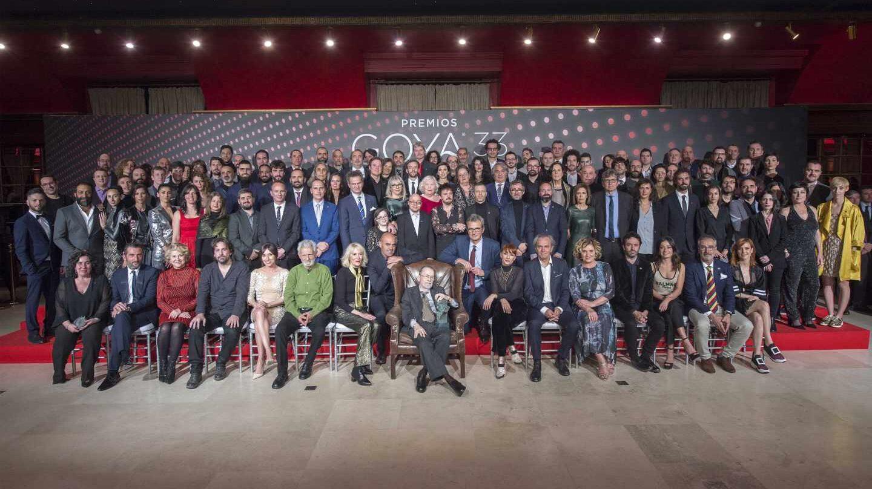 Fiesta de nominados de la 33ª edición de los Premios Goya.