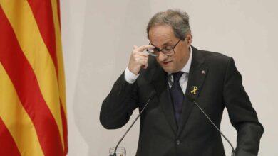 """Los 21 puntos del """"pacto de Estado"""" en Cataluña que Torra pide a Sánchez"""