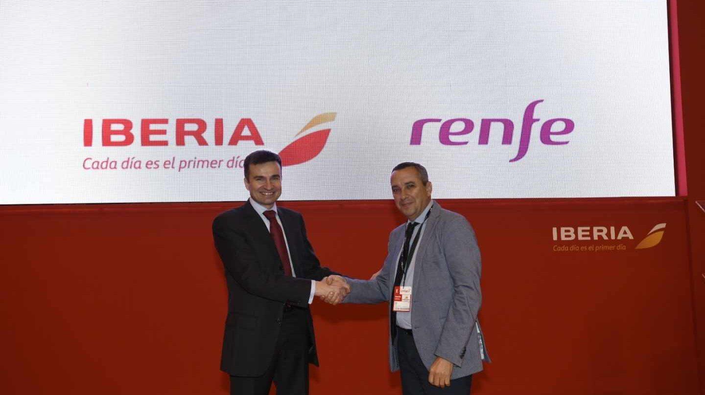Renfe e Iberia amplían la oferta de billetes conjuntos de tren y avión a otras nueve ciudades.