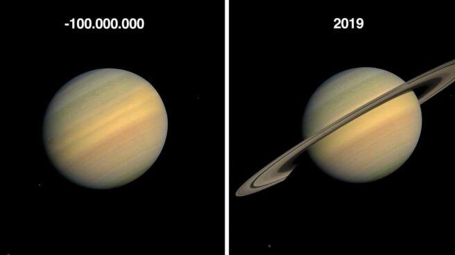 Saturno sin anillos