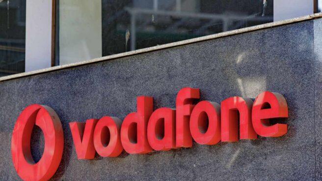 Fachada de una tienda de Vodafone en España.