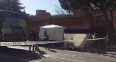 Muere un hombre atropellado por un autobus en Madrid