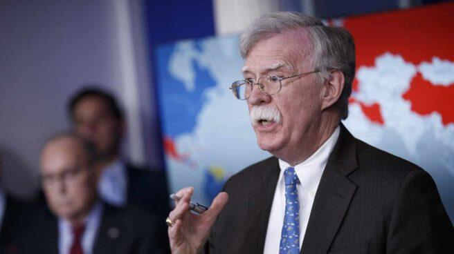 El asesor de seguridad nacional John Bolton.