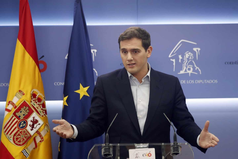 Albert Rivera, en el Congreso de los Diputados.