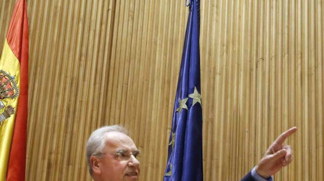 Alfonso Guerra, en la presentación de su libro.