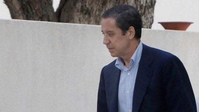 Eduardo Zaplana, en mayo de 2018.