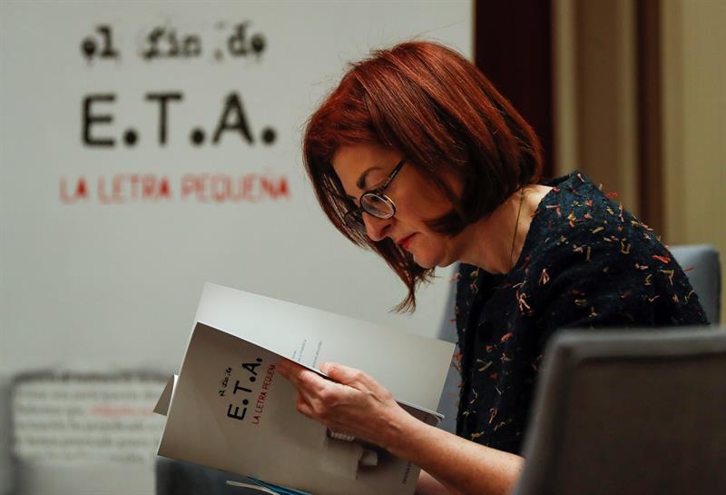 La eurodiputada y víctima de ETA. Maite Pagazaurtundua.