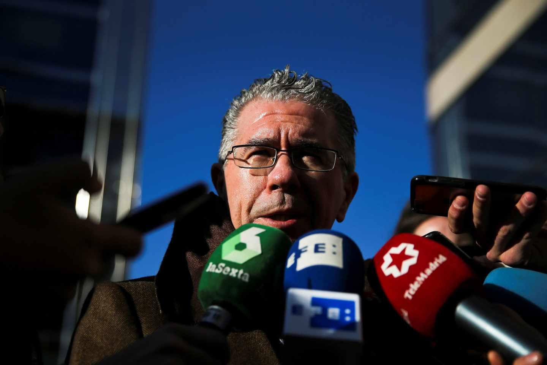 El exconsejero de la Comunidad de Madrid Francisco Granados llega a la Audiencia Provincial.