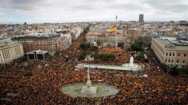 PP, Vox y Cs se suman a la manifestación contra los indultos el 13-J en Colón