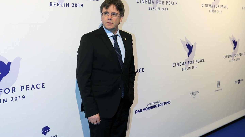 Carles Puigdemont, en el festival de cine de Berlín.