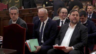 """Junqueras y Romeva pedirán la semilibertad a la Generalitat """"por motivos de trabajo"""""""