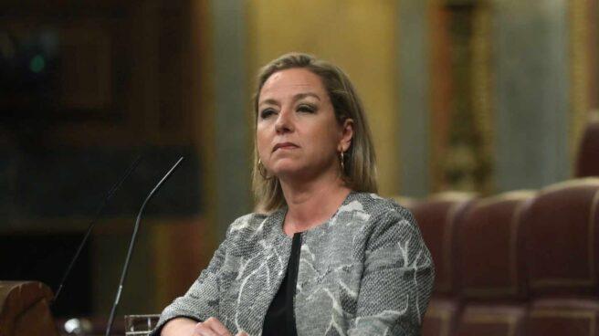 La diputada de Coalición Canarias Ana Oramas, en el Congreso.