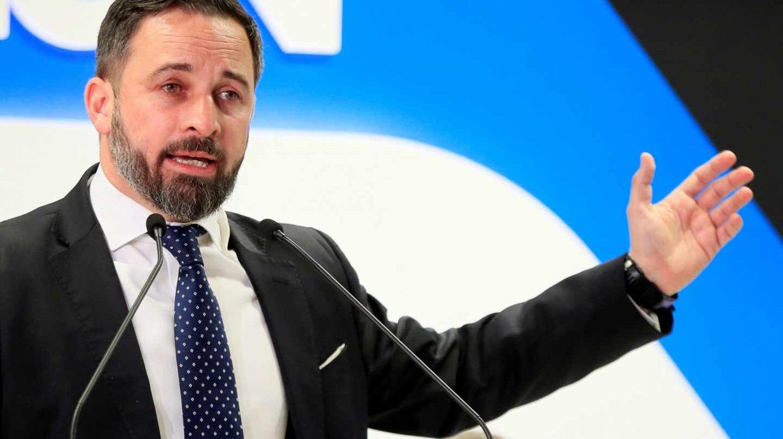 """Abascal ya critica a PP y Ciudadanos por """"no hacer las cosas bien"""" en Andalucía."""