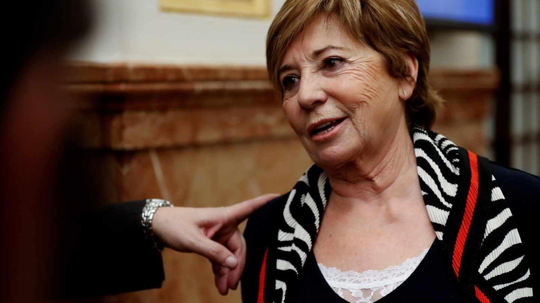 Celia Villalobos este miércoles en el Congreso