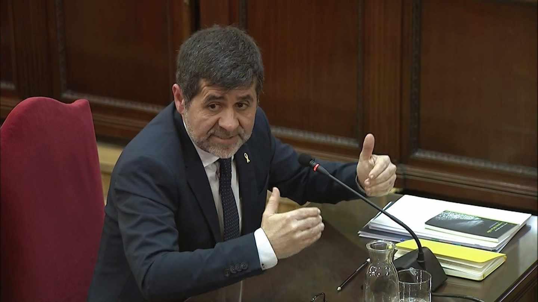 Jordi Sánchez, en el Supremo.