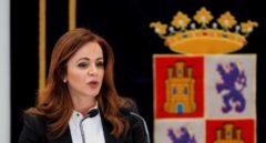 La ya ex presidenta de las Cortes de Castilla y León, Silvia Clemente