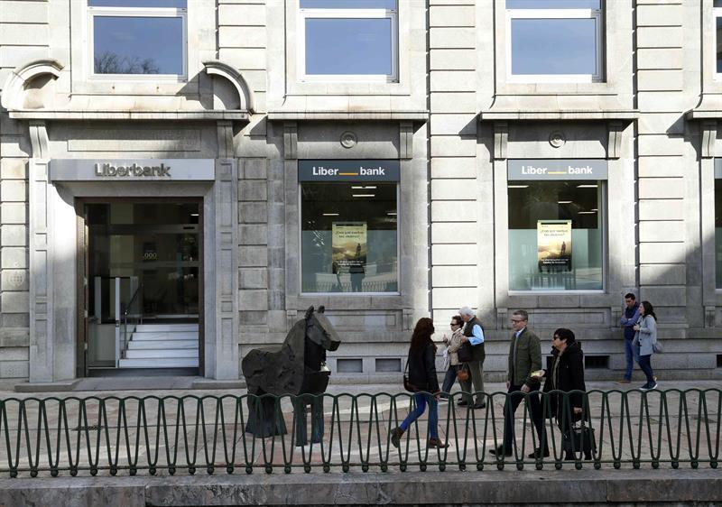 Oficina central de Liberbank en Oviedo