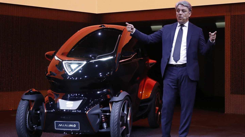 Seat se lanza al segmento de la movilidad urbana con el lanzamiento de Minimó.